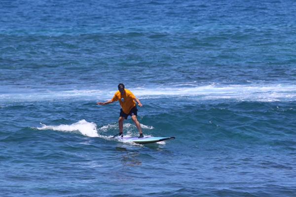 Dr Cohen Surfing